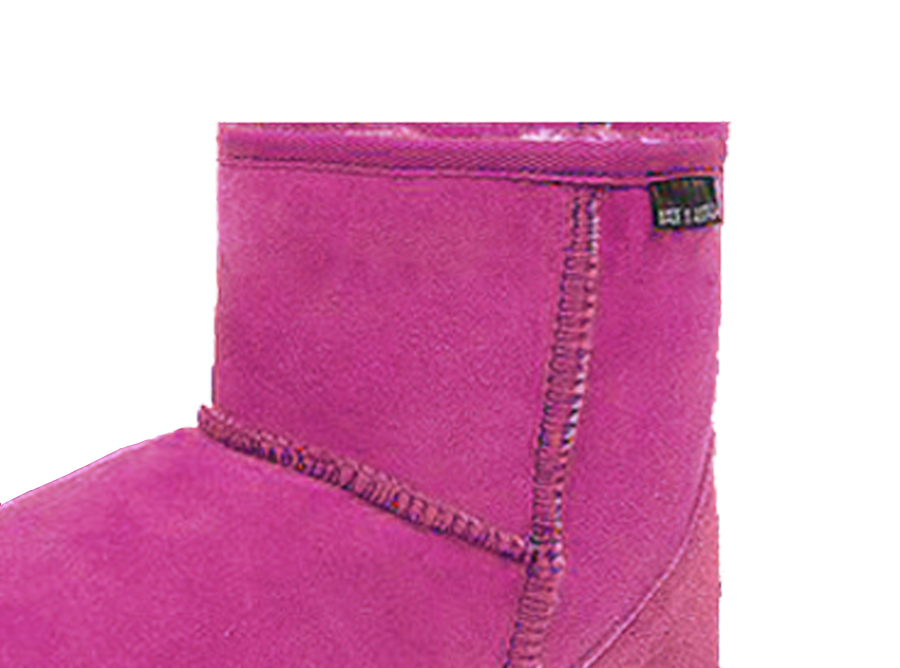 Adults Bright Rose Classic Ultra Short Ugg Boots Cuff