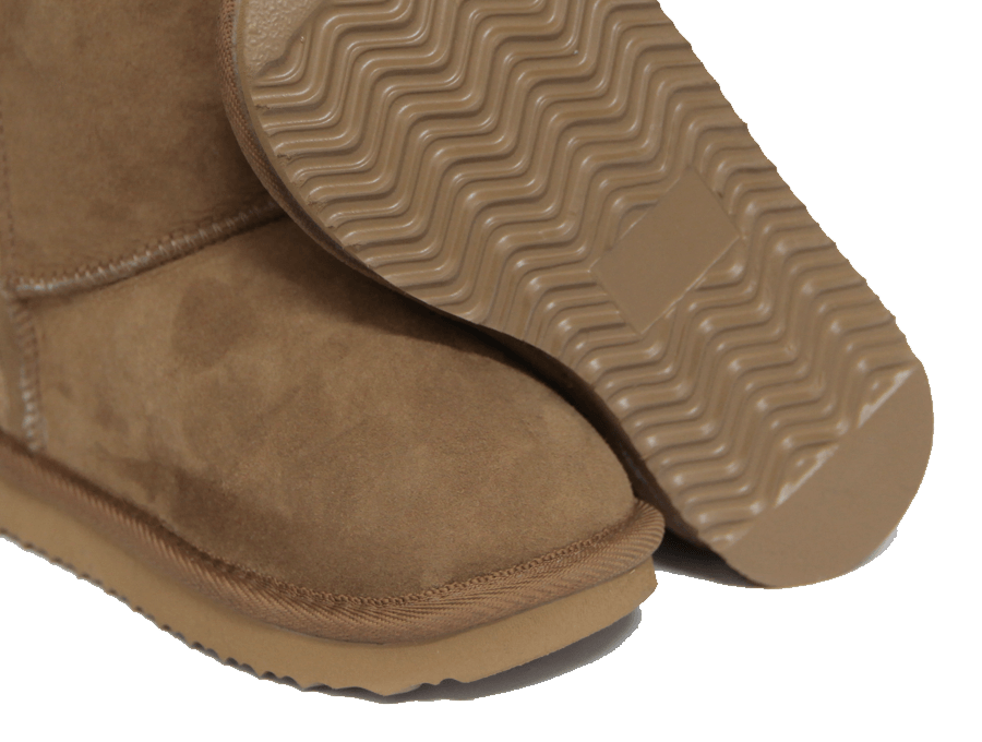 Kids Chestnut Classic Short Ugg Boot Sole Detail