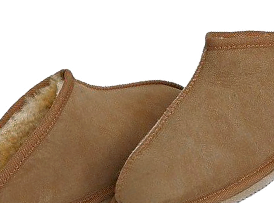 Adults Chestnut Classic Kalu Ugg Style Slippers Detail