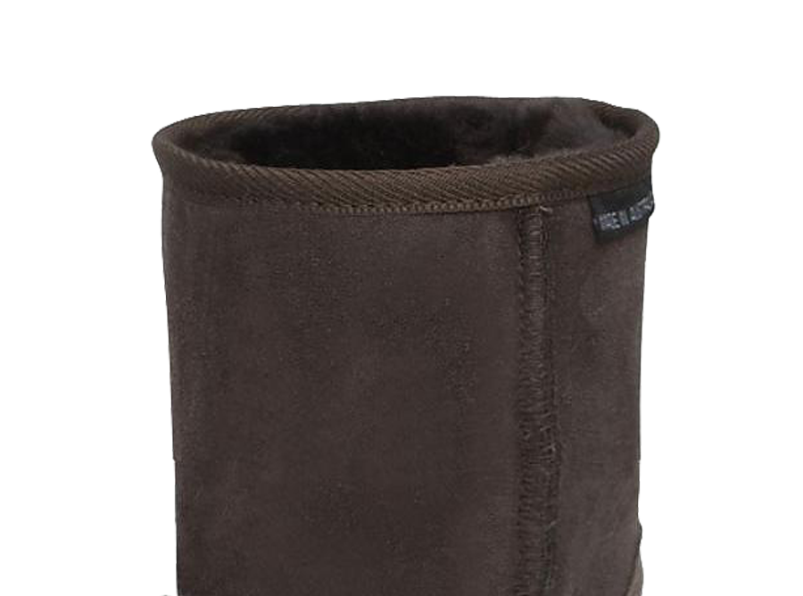 Adults Chocolate Classic Short Ugg Boots Cuff
