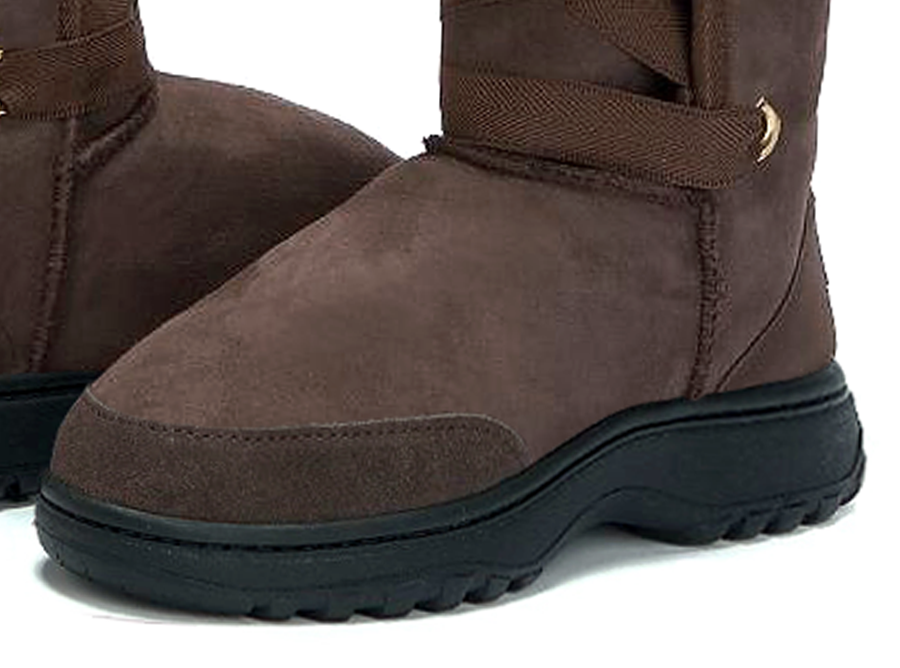 Adults Chocolate Dance Tall Ugg Boot Outdoor Sole Detail