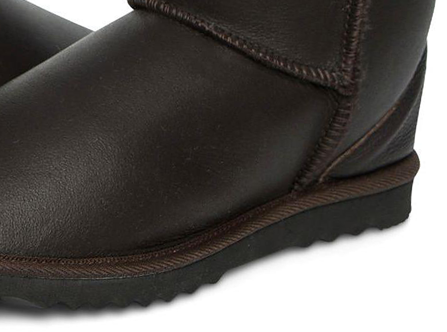 Adults Chocolate Napa Classic Short Ugg Boots Sole Detail