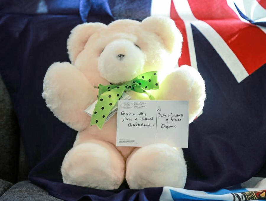 Queensland's gift to the Duke and Duchess of Sussex in 2018