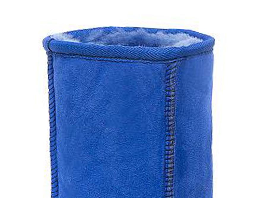 Adults Electric Blue Classic Short Ugg Boots Cuff