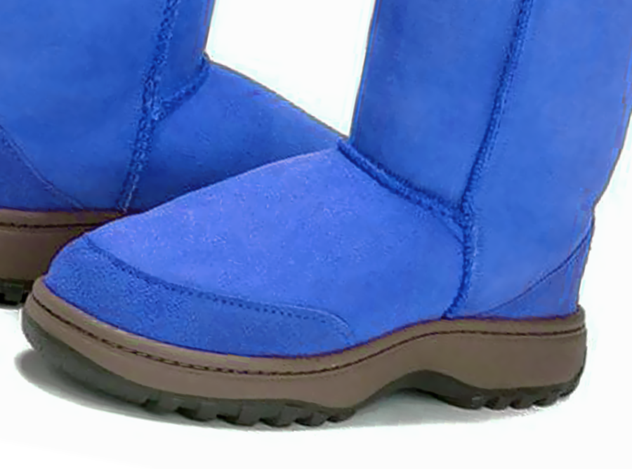Adults Electric Blue Classic Tall Ugg Boots Outdoor Sole Detail