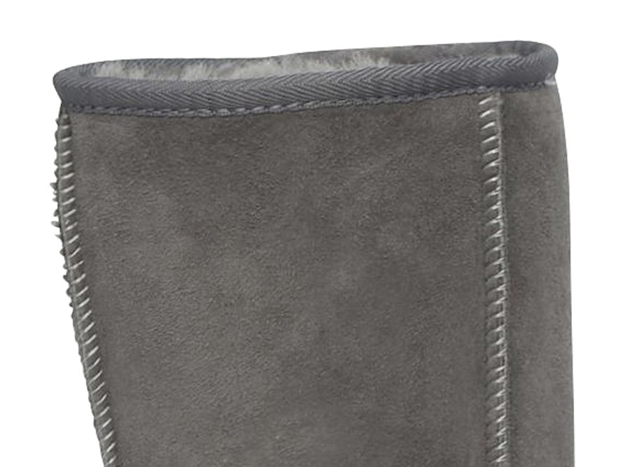 Adults Grey Classic Short Ugg Boots Cuff