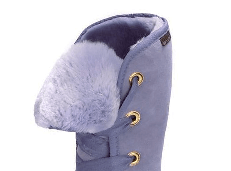Adults Lilac Dance Tall Ugg Boot Cuff Detail