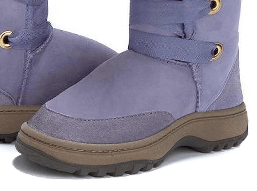 Adults Lilac Dance Tall Ugg Boot Outdoor Sole Detail