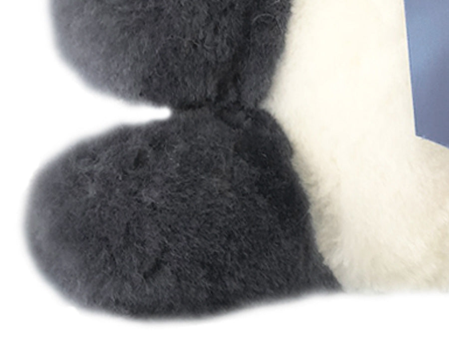 Kids Mid Grey Sheepskin Koala Bear Feet Detail