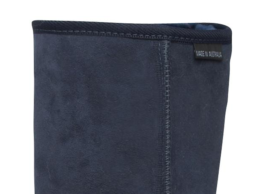 Adults Navy Blue Classic Short Ugg Boots Cuff
