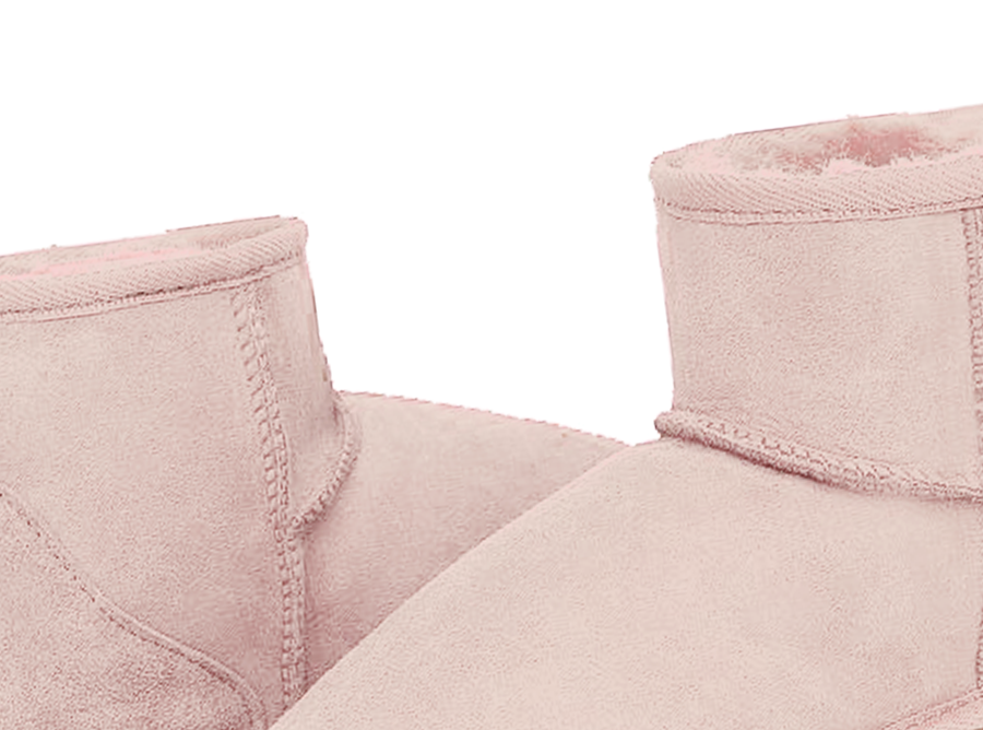 Adults Pink Classic Mini Ugg Boots Detail