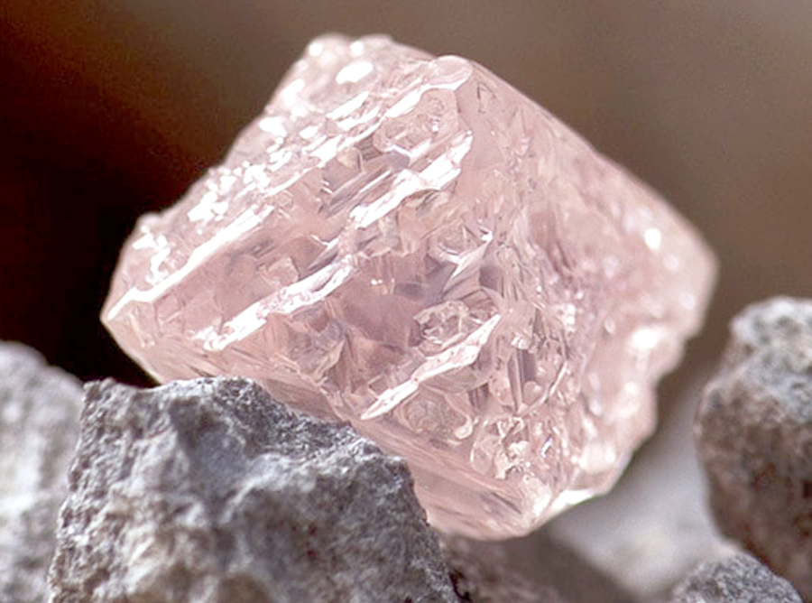 Australian Pink Diamond Colour