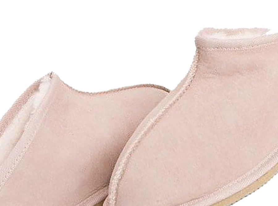 Adults Pink Classic Kalu Ugg Style Slippers Detail