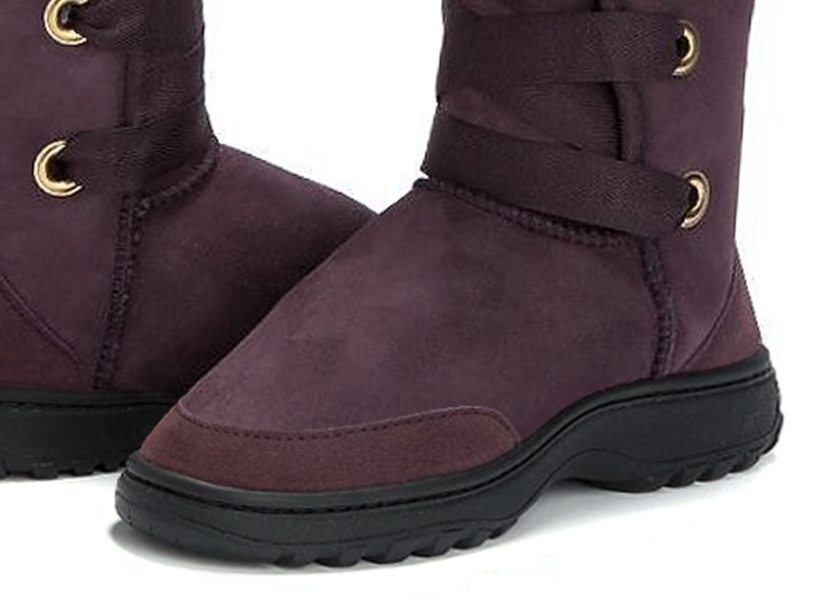 Adults Raisin Dance Tall Ugg Boot Outdoor Sole Detail