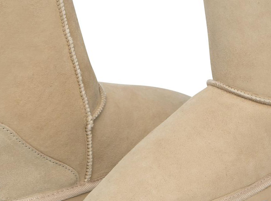 Adults Sand Classic Short Ugg Boots Detail