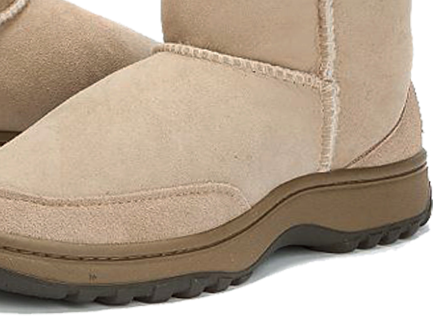 Adults Sand Classic Mini Ugg Boots Outdoor Sole Detail