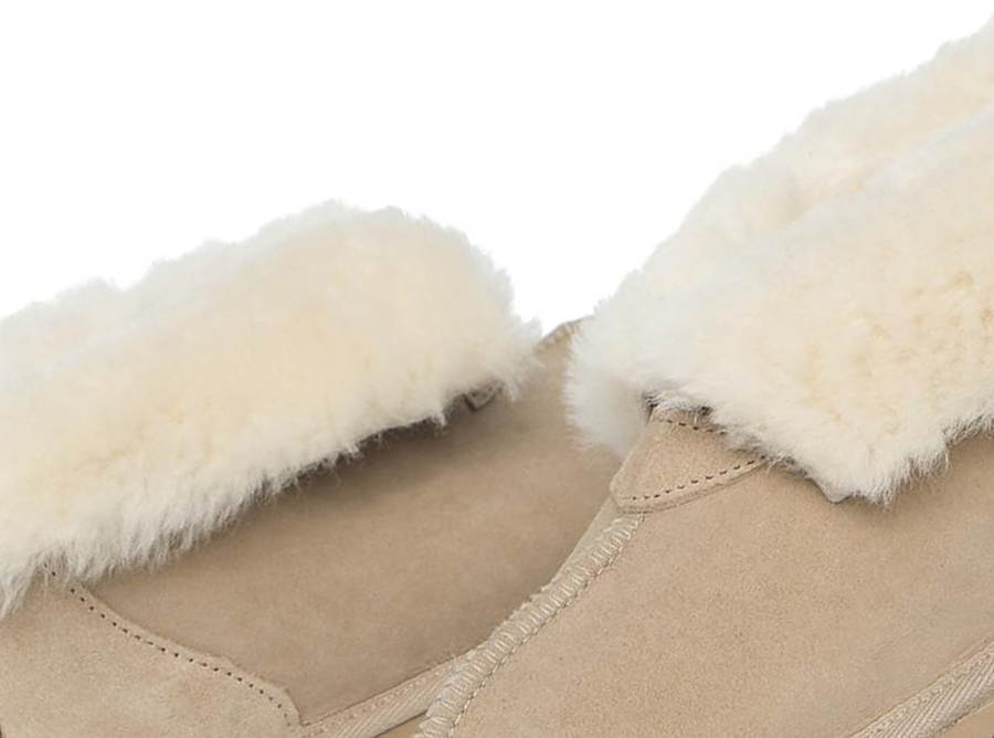 Adults Sand Classic Ugg Style Slipper Detail