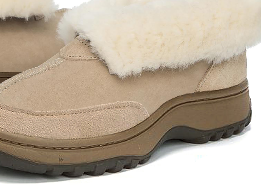 Adults Sand Classic Ugg Style Slipper Outdoor Sole Detail