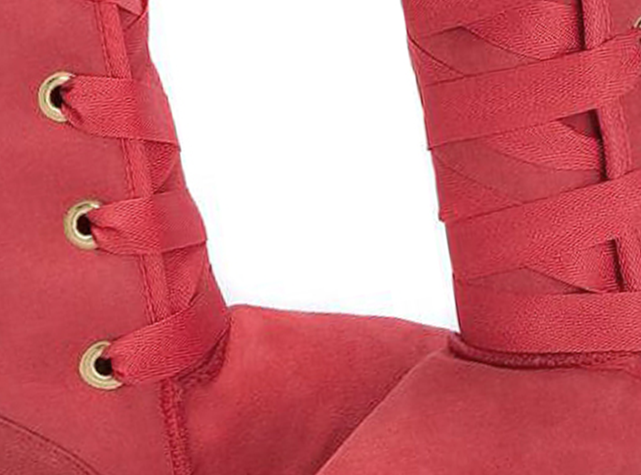 Adults Scarlet Dance Tall Ugg Boot Detail