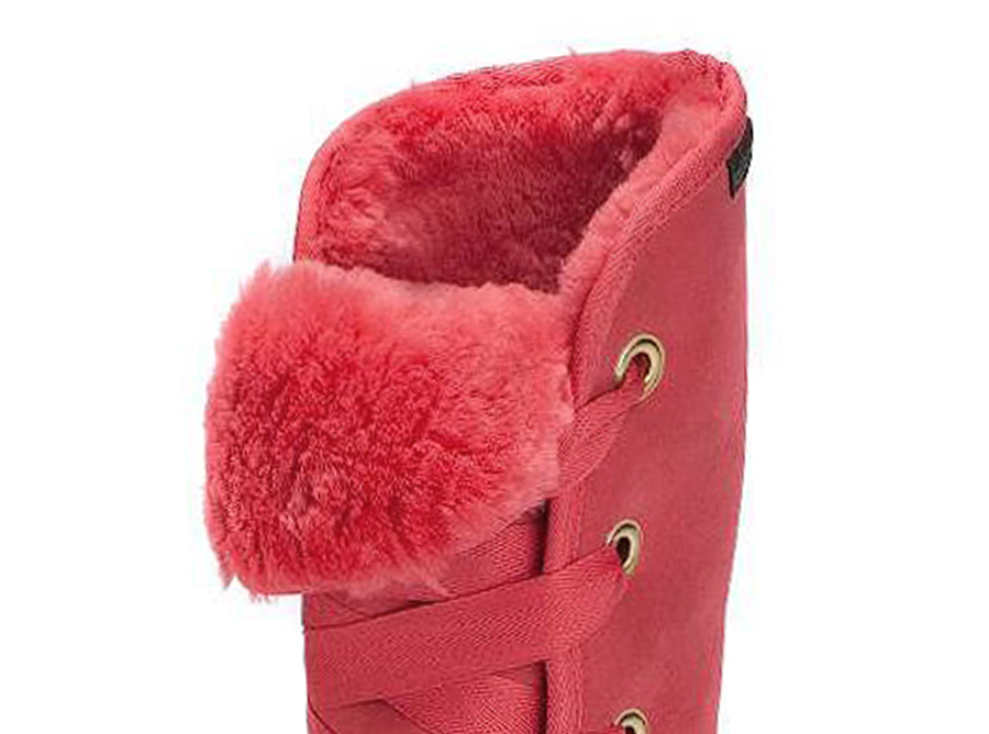 Adults Scarlet Dance Tall Ugg Boot Cuff Detail