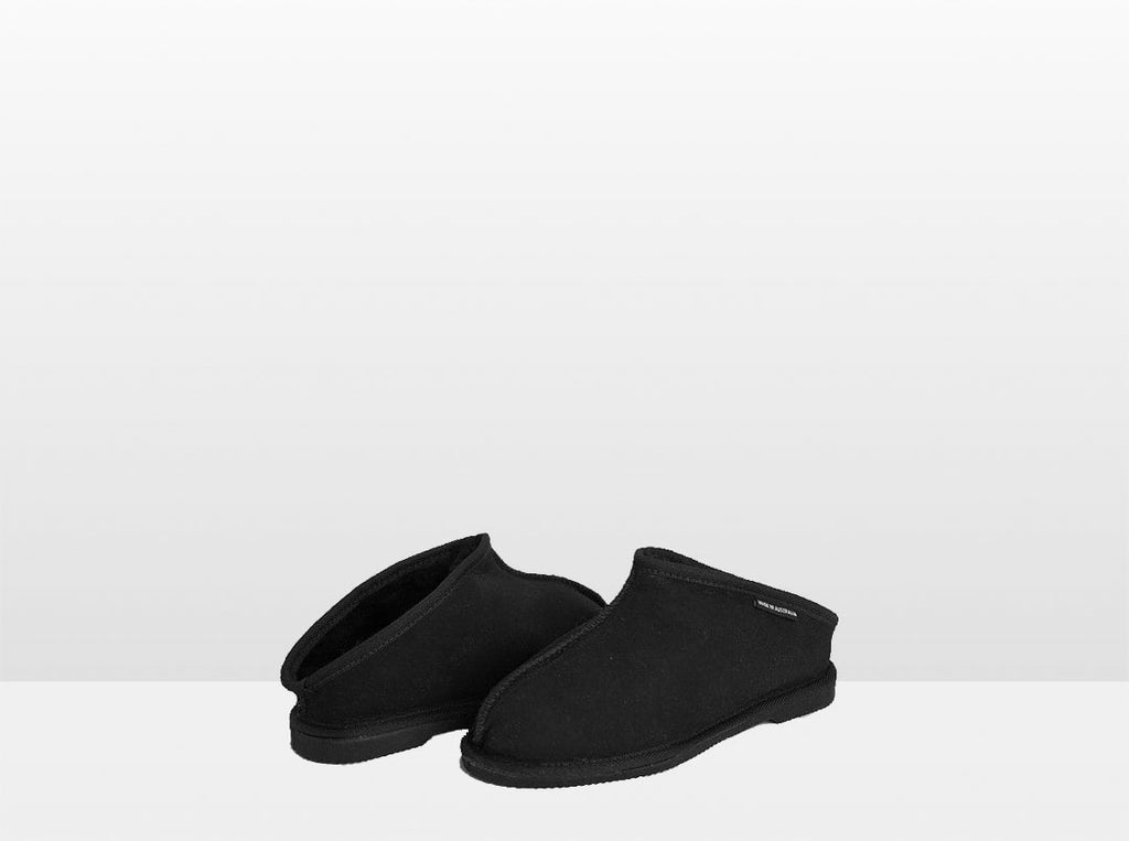 Adults Black Classic Kalu Ugg Style Slippers