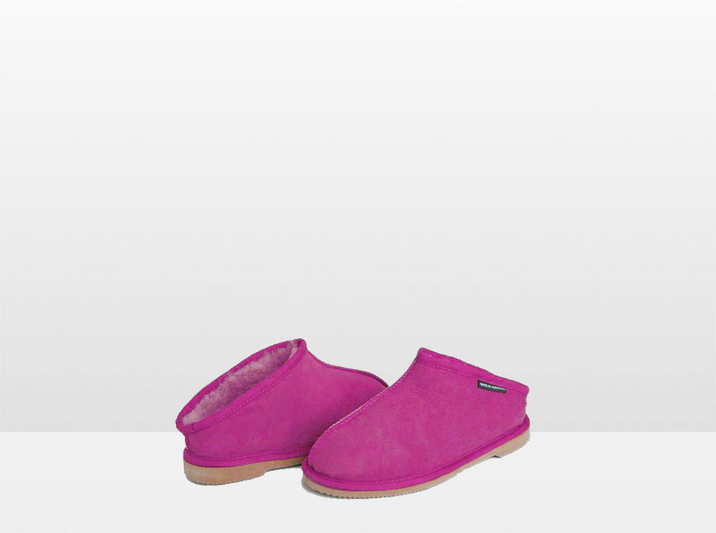 Adults Bright Rose Classic Kalu Ugg Style Slippers
