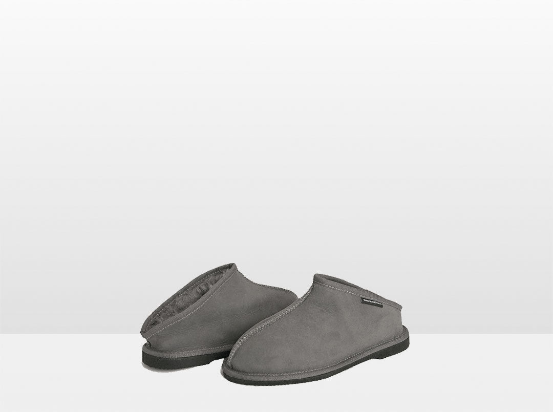 Adults Grey Classic Kalu Ugg Style Slippers