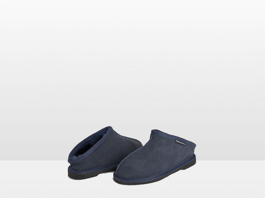 Adults Navy Classic Kalu Ugg Style Slippers
