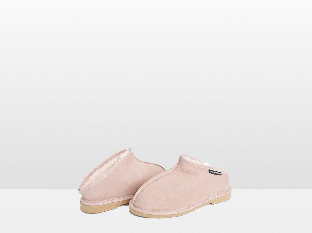 Adults Pink Classic Kalu Ugg Style Slippers