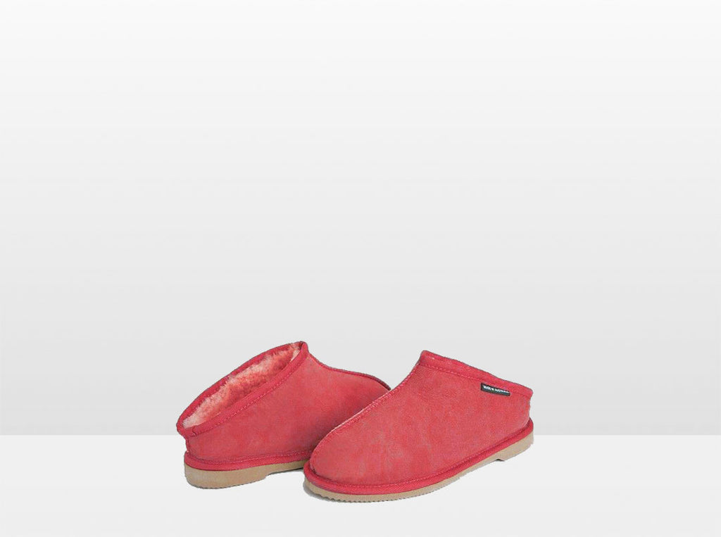 Adults Scarlet Classic Kalu Ugg Style Slippers