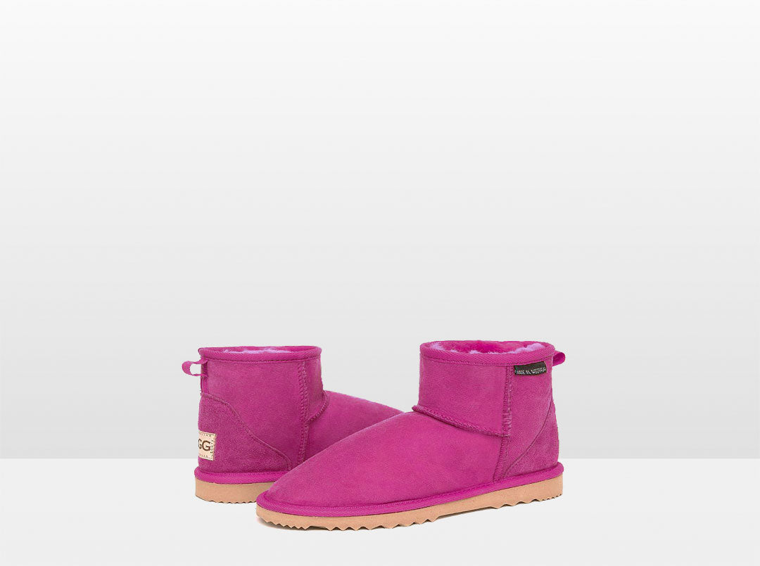 Adults Bright Rose Classic Mini Ugg Boots