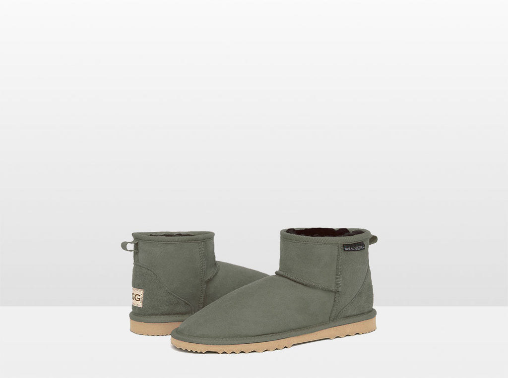 Adults Camo Green Classic Mini Ugg Boots