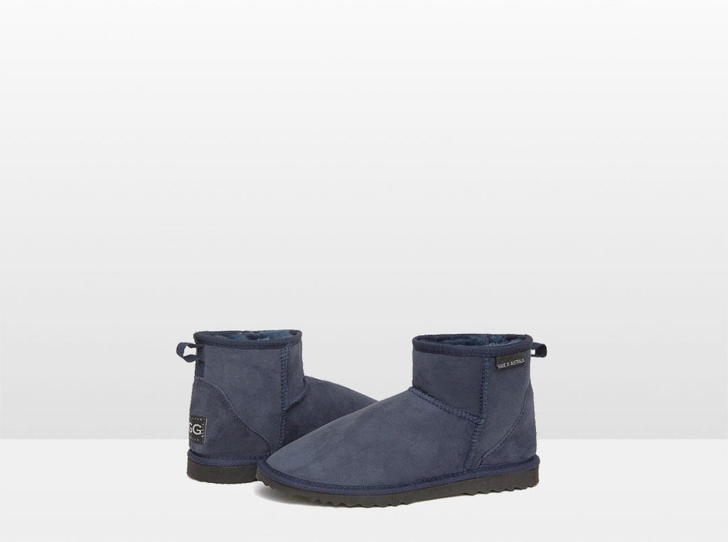 Adults Navy Blue Classic Mini Ugg Boots