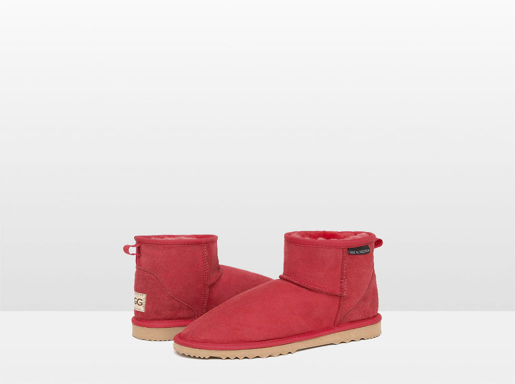 Adults Scarlet Classic Mini Ugg Boots