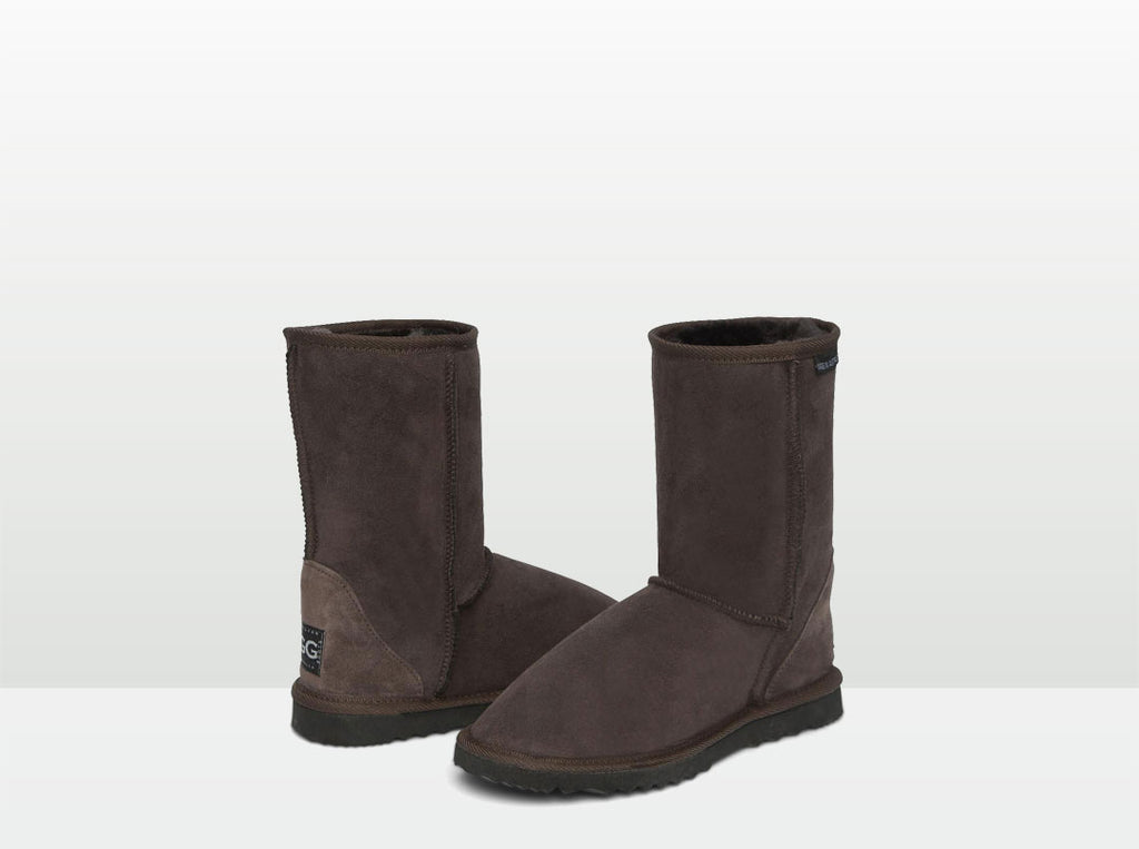 Adults Chocolate Short Deluxe Ugg Boots