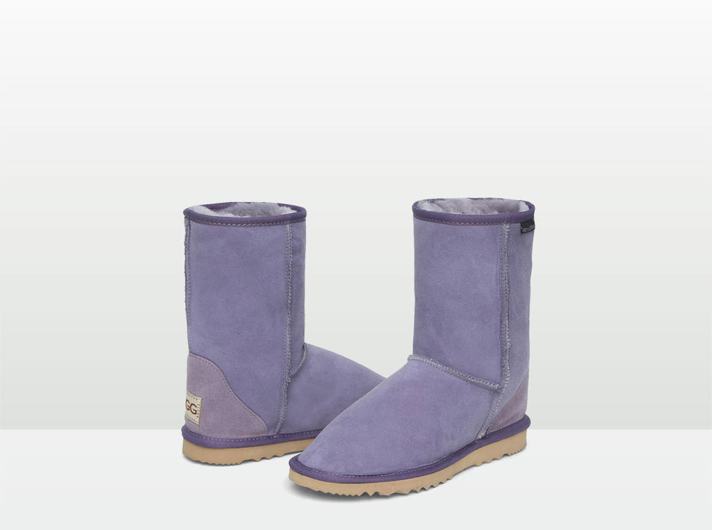 Adults Lilac Short Deluxe Ugg Boots