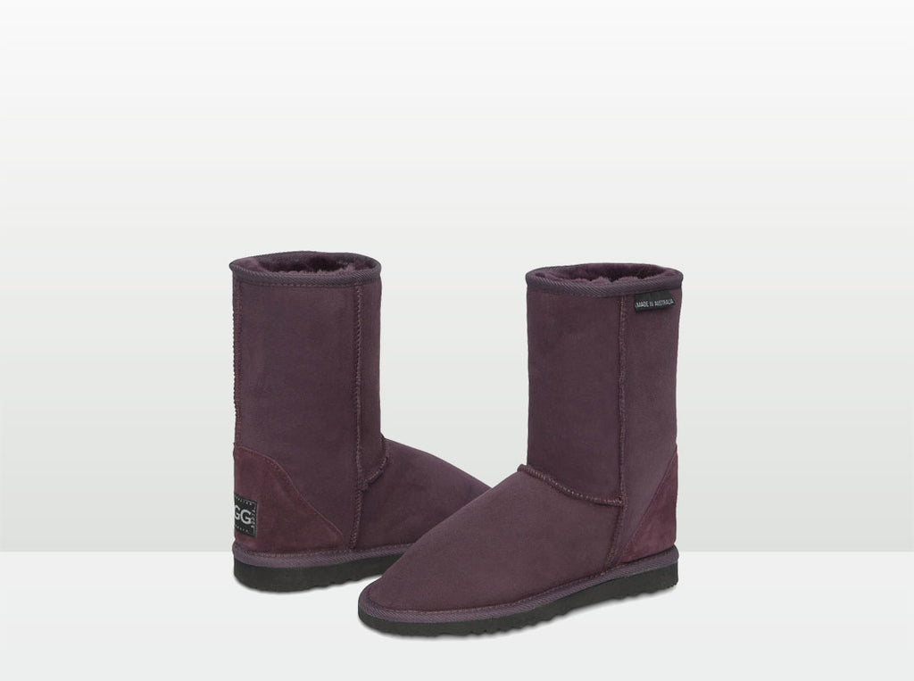 Adults Raisin Short Deluxe Ugg Boots