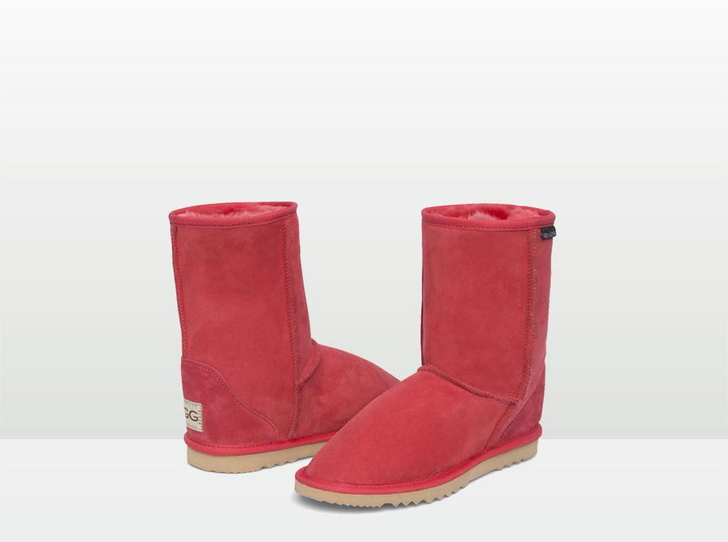 Adults Scarlet Short Deluxe Ugg Boot