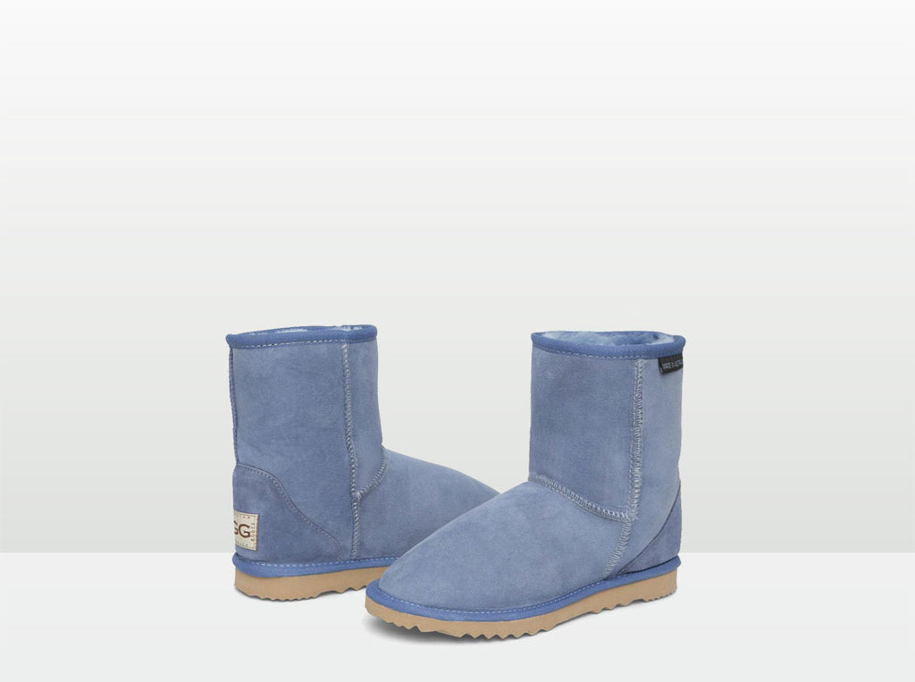 Adults Denim Blue Classic Short Ugg Boots