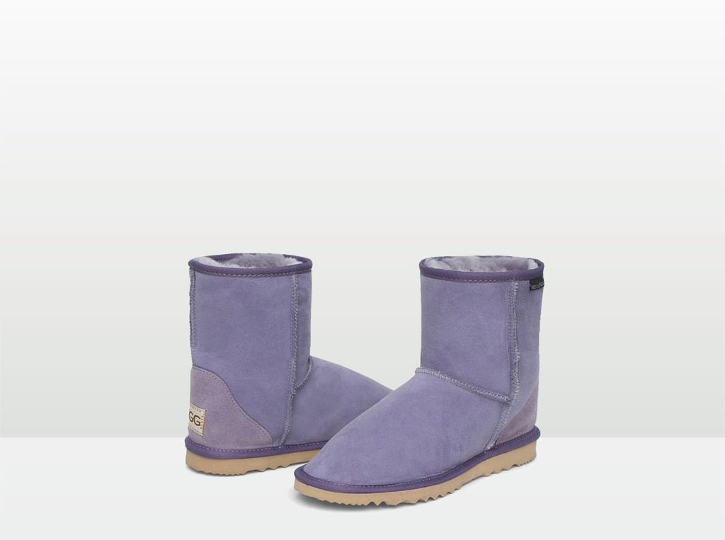 Adults Lilac Classic Short Ugg Boots