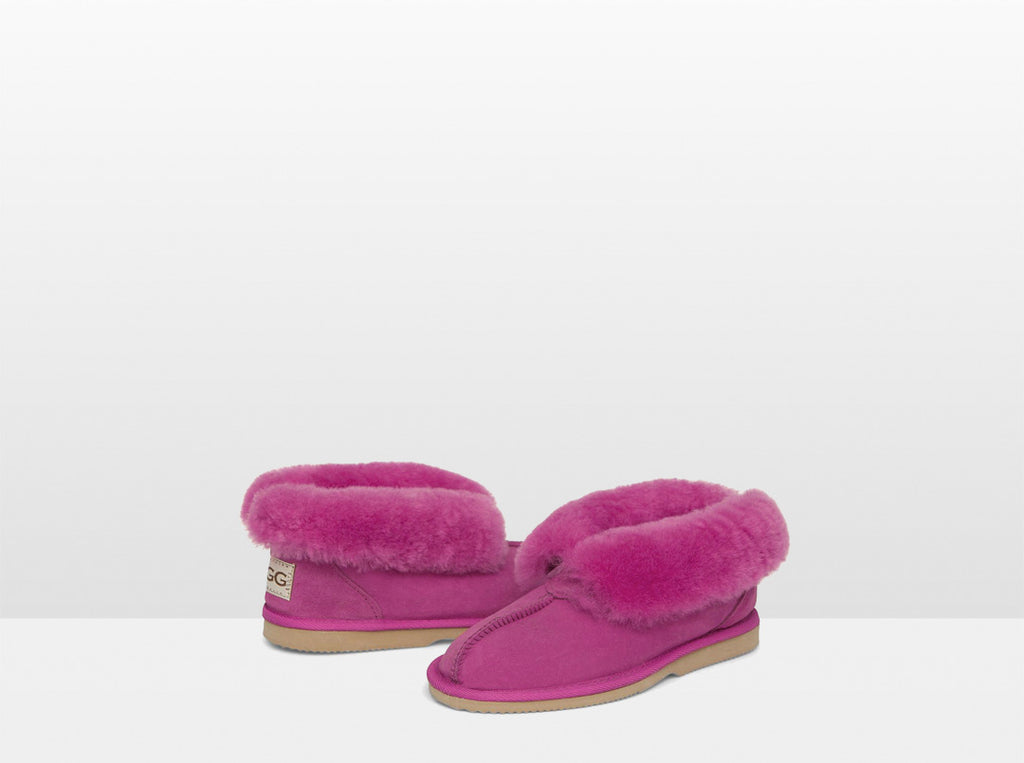 Adults Rose Classic Ugg Style Slipper