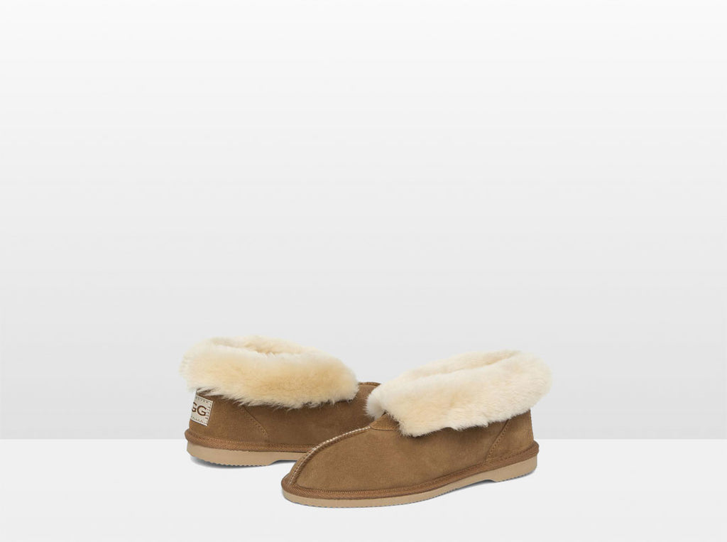 Adults chestnut Classic Ugg Style Slipper