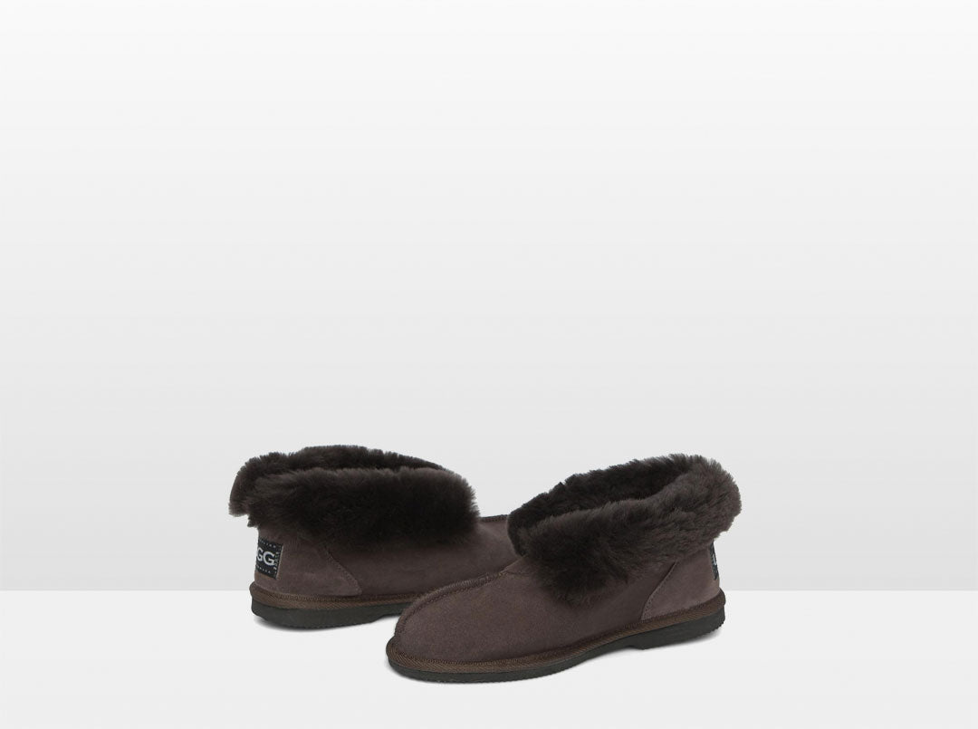 Adults Chocolate Classic Ugg Style Slipper