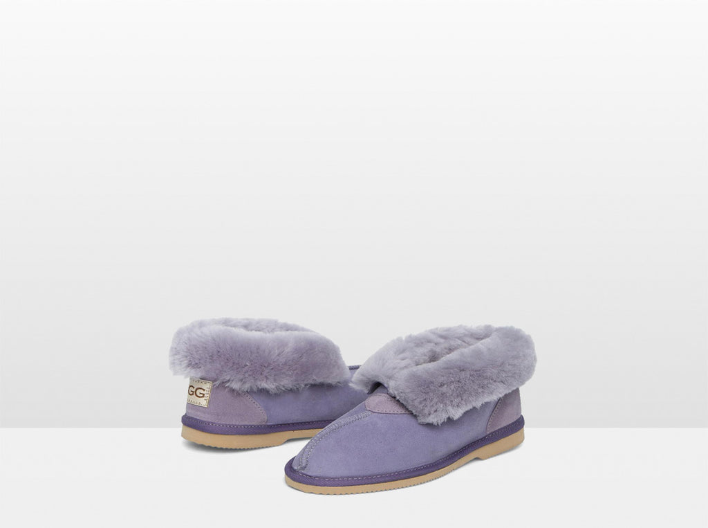 Adults Lilac Classic Ugg Style Slipper