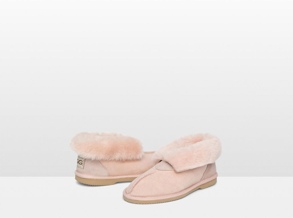 Adults Pink Classic Ugg Style Slipper