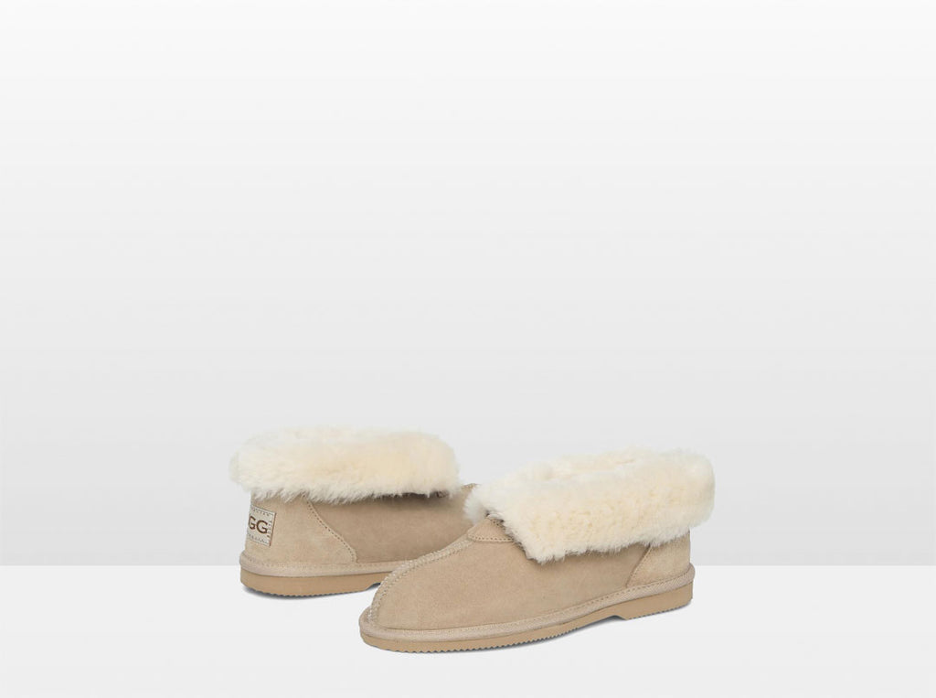 Adults Sand Classic Ugg Style Slipper