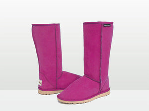 Adults Bright Rose Classic Tall Ugg Boots