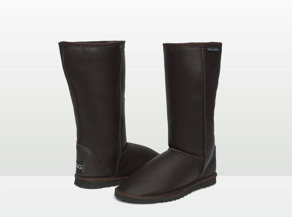 Adults Chocolate Napa Classic Tall Ugg Boot