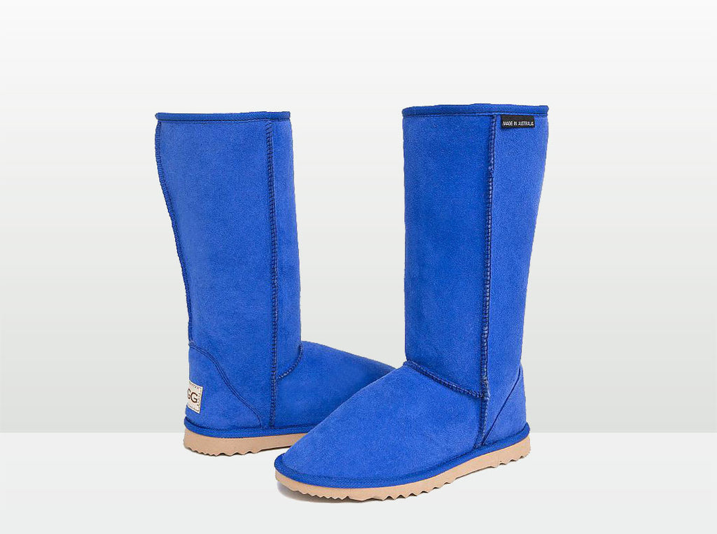Adults Electric Blue Classic Tall Ugg Boots