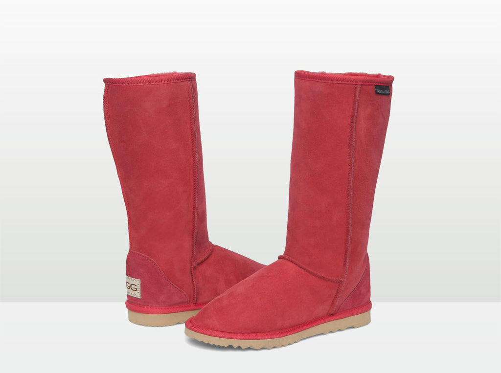 Adults Scarlet Ugg Boots